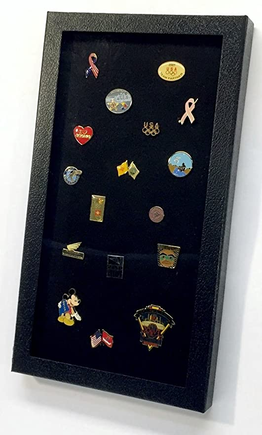 1fb0a9f1e Hobbymaster Pin Collector's Display Case for Disney, Hard Rock, Olympic &  Other Collectible pins