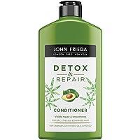 John Frieda Detox & Repair Conditioner met avocado-olie en groene thee-extract voor dof & beschadigd haar - 250 ml…
