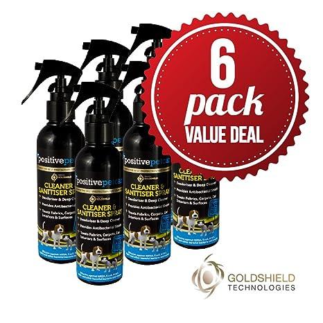 Spray limpiador y desinfectante Positive Petcare, elimina el mal olor de la orina de perros
