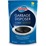 Glisten Disposer Care Foaming Drain/Pipe Cleaner, 4.9 Ounce (Pack of 4), White, Blue, 19 Ounce
