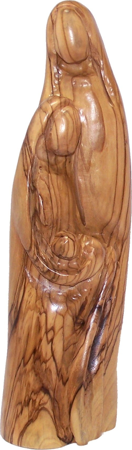 Holy Land Market Olive Wood Holy Family Statue (9.6 Inches)