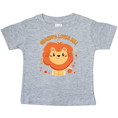 Amazon.com: inktastic – Grandpa Loves Me – lindo león bebé ...