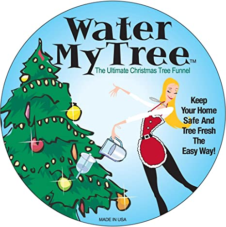 How To Take Care Of A Real Christmas Tree.Water My Tree The Ultimate Christmas Tree Funnel Best Selling