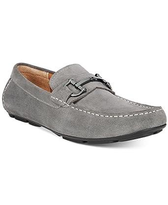 06c54713f71 Amazon.com  Alfani Mens James Suede Drivers with Bit Loafer Shoes ...
