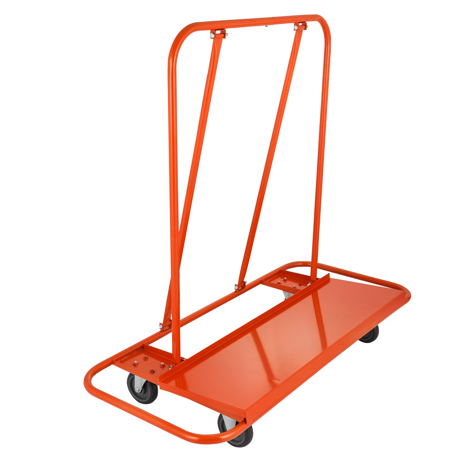 BestEquip Drywall Cart Capacity Drywall Cart Dolly Utility Handling Sheetrock Panel 45 x 12 Inch Deck Size (2000lbs)