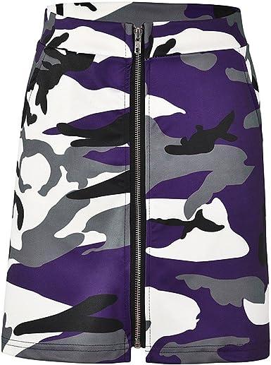 Las Rebajas Faldas de Camuflaje para Mujeres, Faldas Cortas de ...