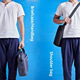 KALIDI Laptop Shoulder Bag, 17.3 Inch Notebook