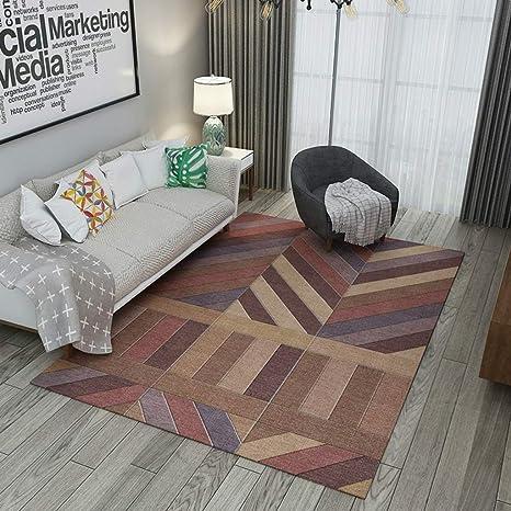 Amazon.com: Alfombra rectangular para sofá o mesa de café ...