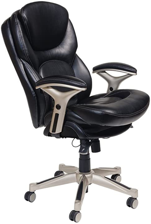 Amazoncom Serta Works Executive Office Chair with Back in Motion