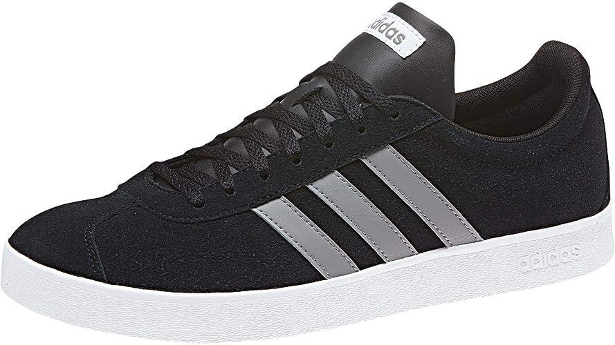 adidas VL Court 2.0, Chaussures de Skateboard Homme: Amazon