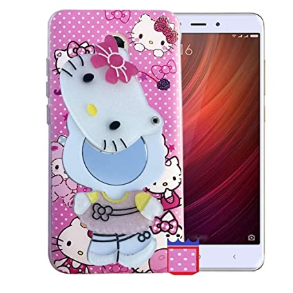 35848a29d Aarnik 3D Cute Makeup Mirror Soft Kitty Silicone Back: Amazon.in:  Electronics