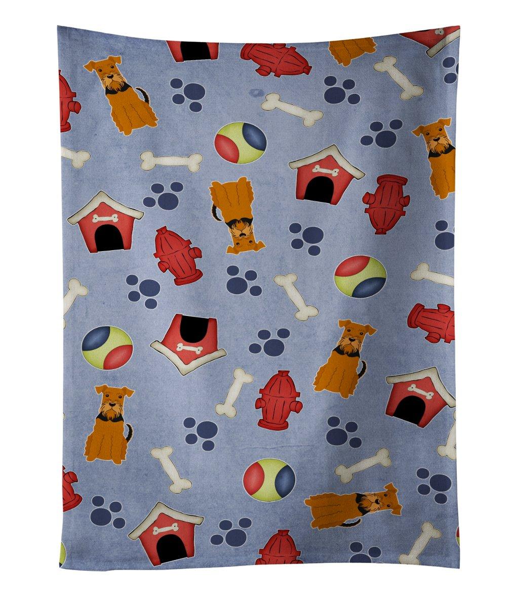 25 x 15 Multicolor Carolines Treasures BB2638KTWL West Siberian Laika Spitz Kitchen Towel