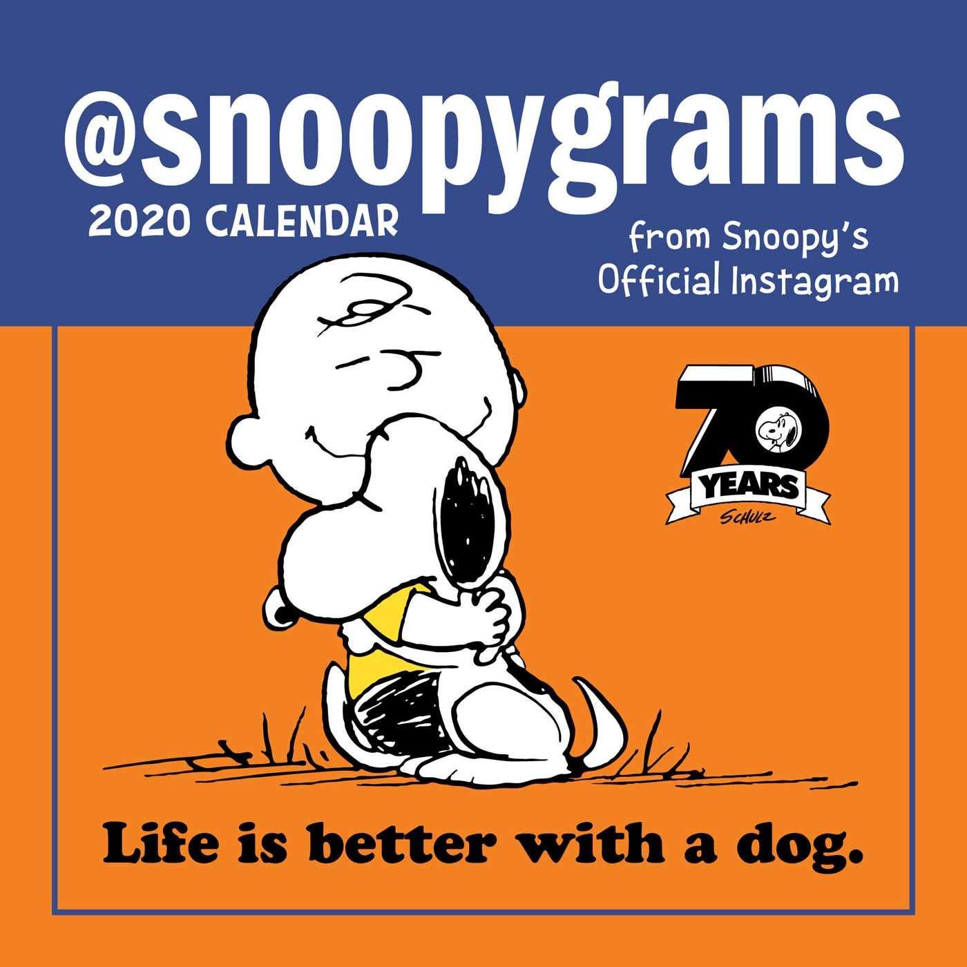 Peanuts 2020 Mini Wall Calendar: @Snoopygrams