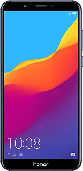 Honor 7C (Blue, 3GB RAM, 32GB Storage) Smartphones at amazon