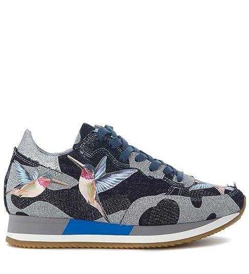 it Blu Sneaker 39 Model Etoile Amazon borse e Scarpe Philippe Bird xqT0w7nA