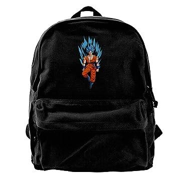 Dragon Ball Z Goku para hombre y para mujer ligero mochila escolar bolsa para iPad: Amazon.es: Electrónica