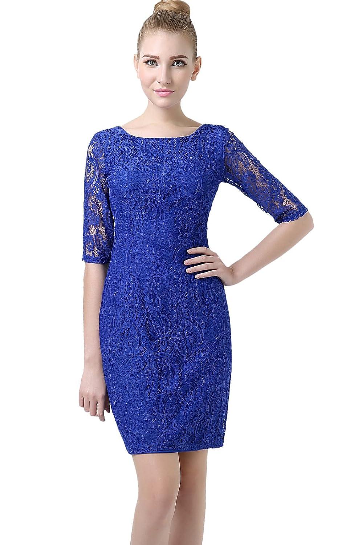 "Phistic Women's ""Jasmine"" Lace Overlay Sheath Dress"