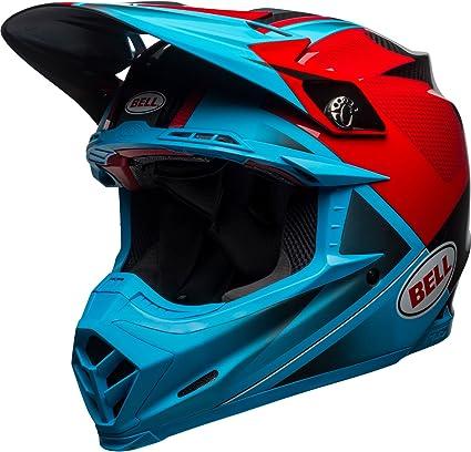 Bell Moto 9 Flex Hound Mx Helmet Small Red White Black Sport Freizeit