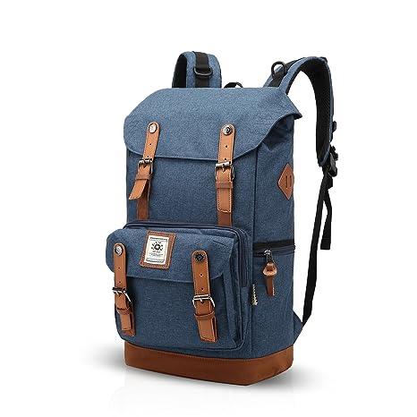 FANDARE Mochila de Viaje 15.6 Pulgada Ordenador Portátil Backpack Estudiantes Universitarios Mochila de Montañismo Hombre Mujer