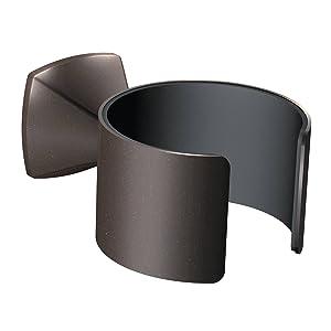 Moen YB5170ORB Voss Hair Dryer Holder, Bronze