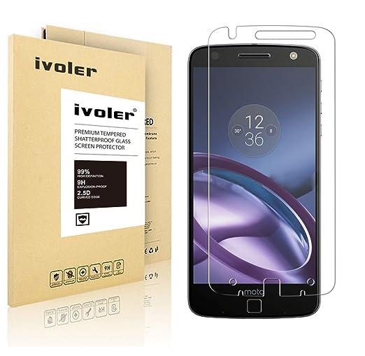 5 opinioni per Motorola Moto Z Pellicola Protettiva, iVoler® Pellicola Protettiva in Vetro