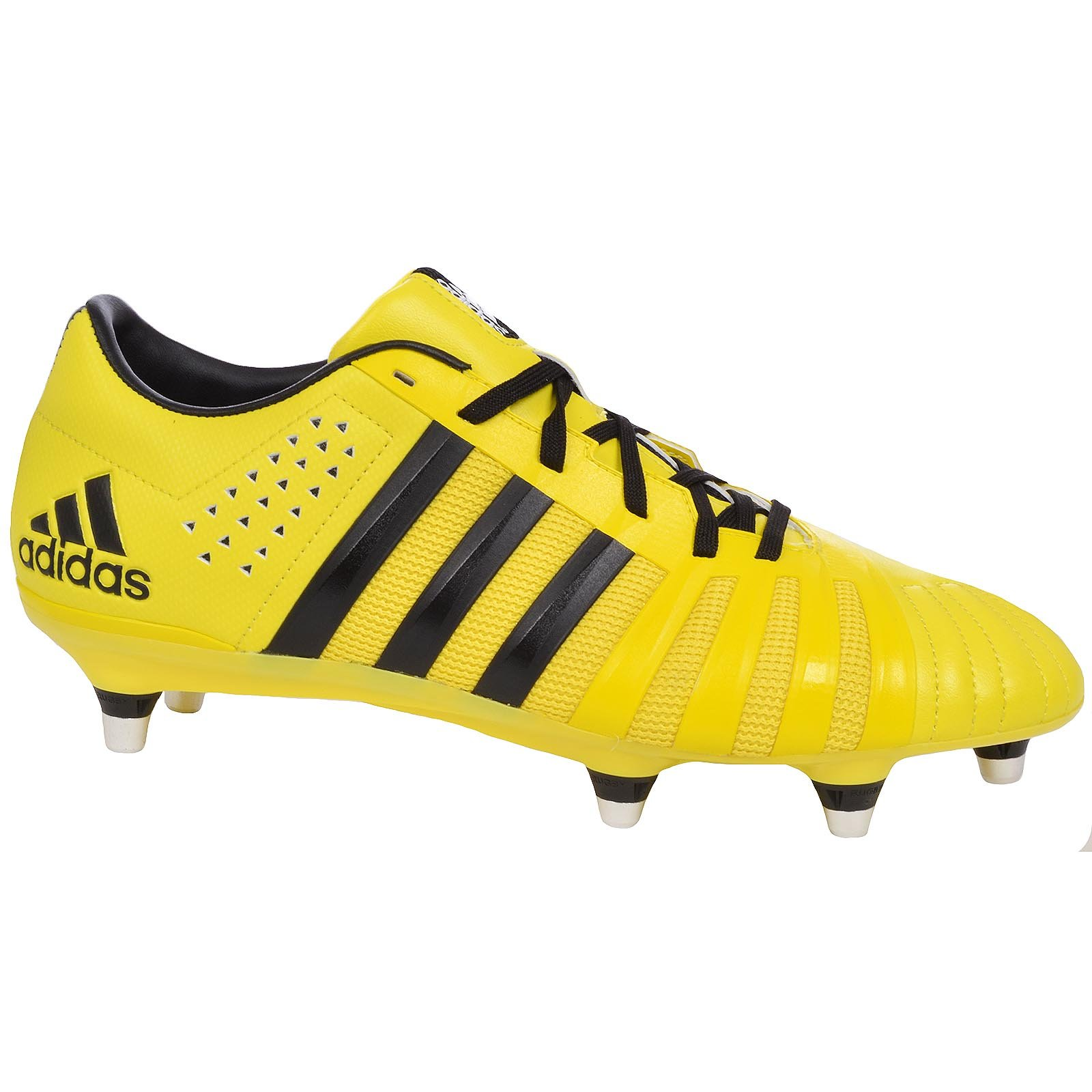 adidas SS16 ff80 Pro 2.0 XTRX SG Rugby Boots - Yellow - Yellow/Black - UK 9.5