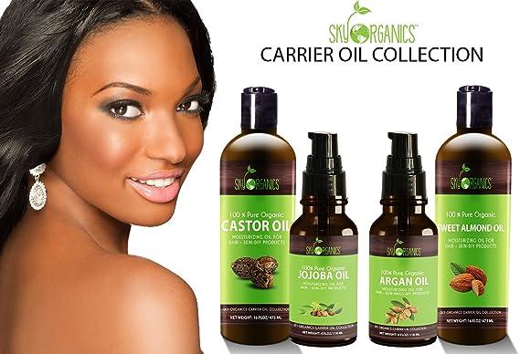 ... Kosher, USP grado, hipoalergénico, prensado en frío - Beneficios pelo & piel - excelente emollient- ideal base de jabón, aceite y DIY- 8oz: Amazon.es: ...