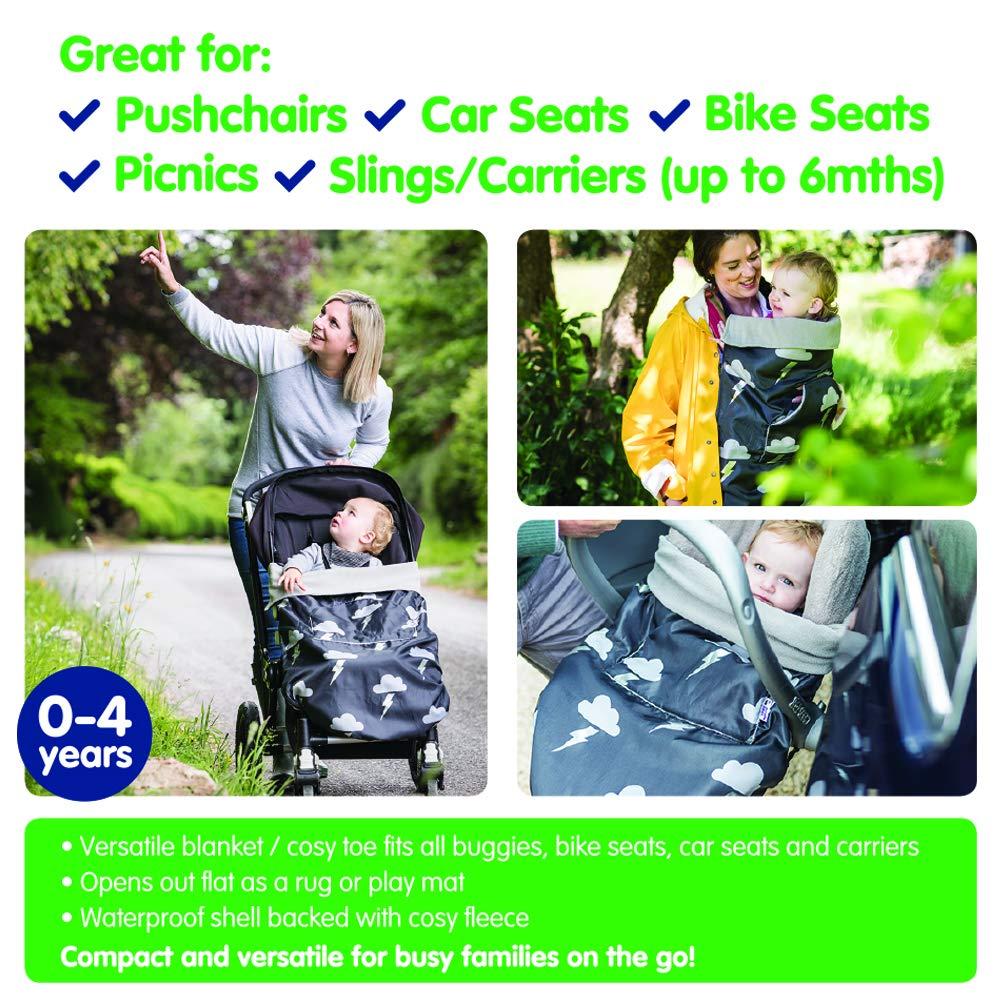 universal waterproof footmuff car seat cosy toes BundleBean GO