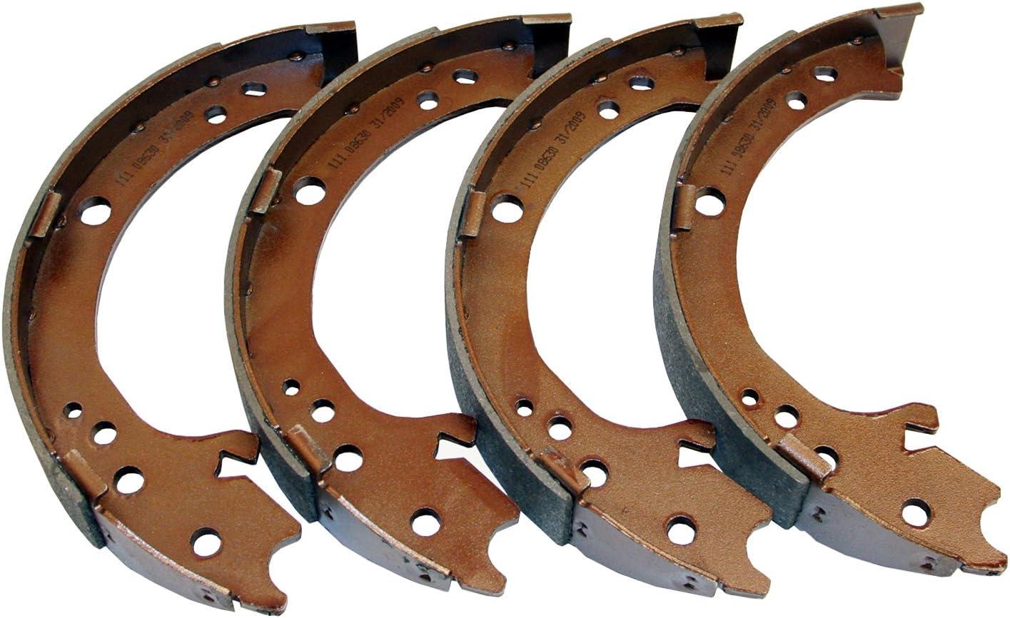 Parking Brake Shoe Rear Beck//Arnley 081-3229