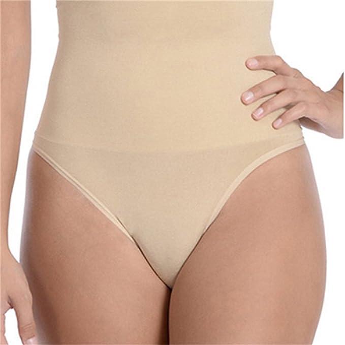 1b60e21b8703 Trifolium Women's Ladies Shapewear Waist Butt Shaper Lifter Tummy Control  Thong Panties 917 (UK 8