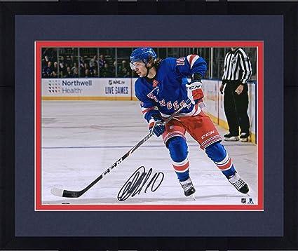 Artemi Panarin New York Rangers Autographed 8 x 10 Blue Jersey Skating Photograph Fanatics Authentic Certified