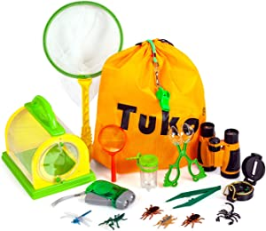 Tuko Explorer Kit Bug Catcher Critter Barn Habitat for Indoor/Outdoor Insect Collecting Nature Exploration Toys for Boys and Girls 3+ Years Old