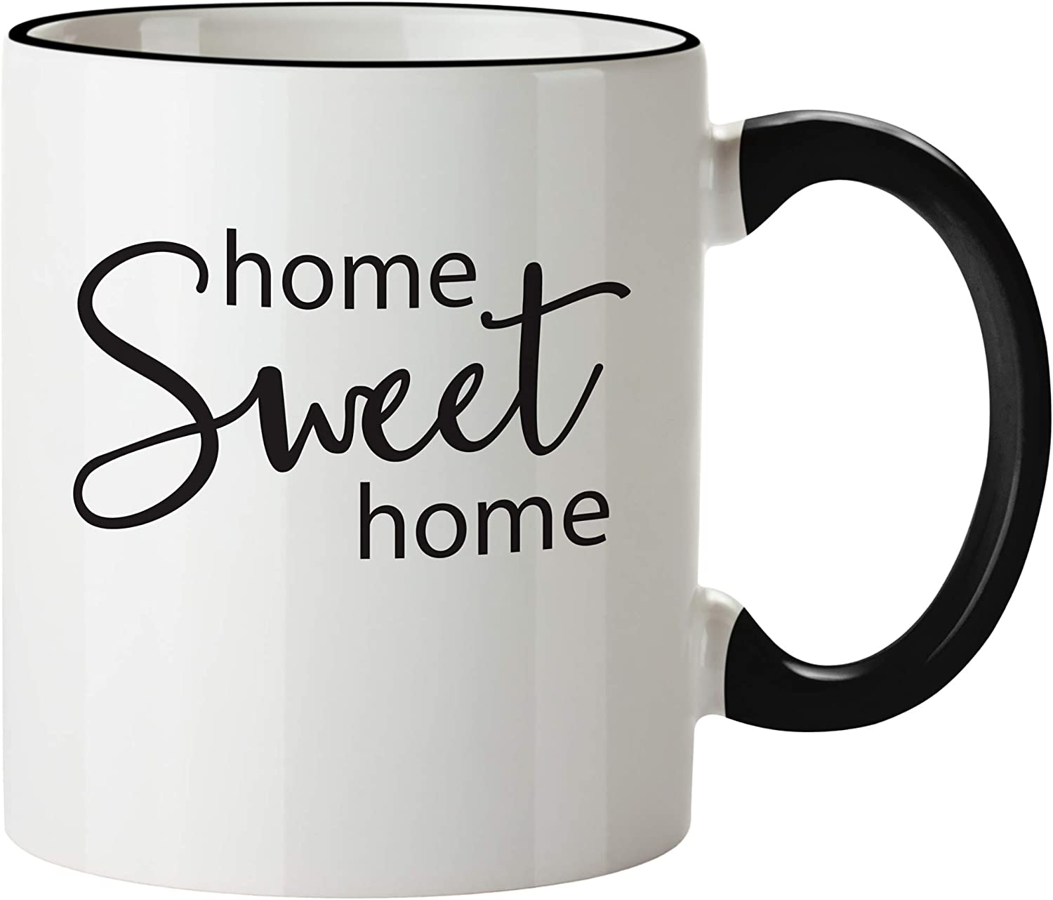 Home Sweet Home 11oz Coffee Mug - Housewarming Gifts for New Home - Unique House Warming Gift Ideas for Women, Men, Him, Her, Couple - First Time House Owner Luxury Coffe Cup Presents