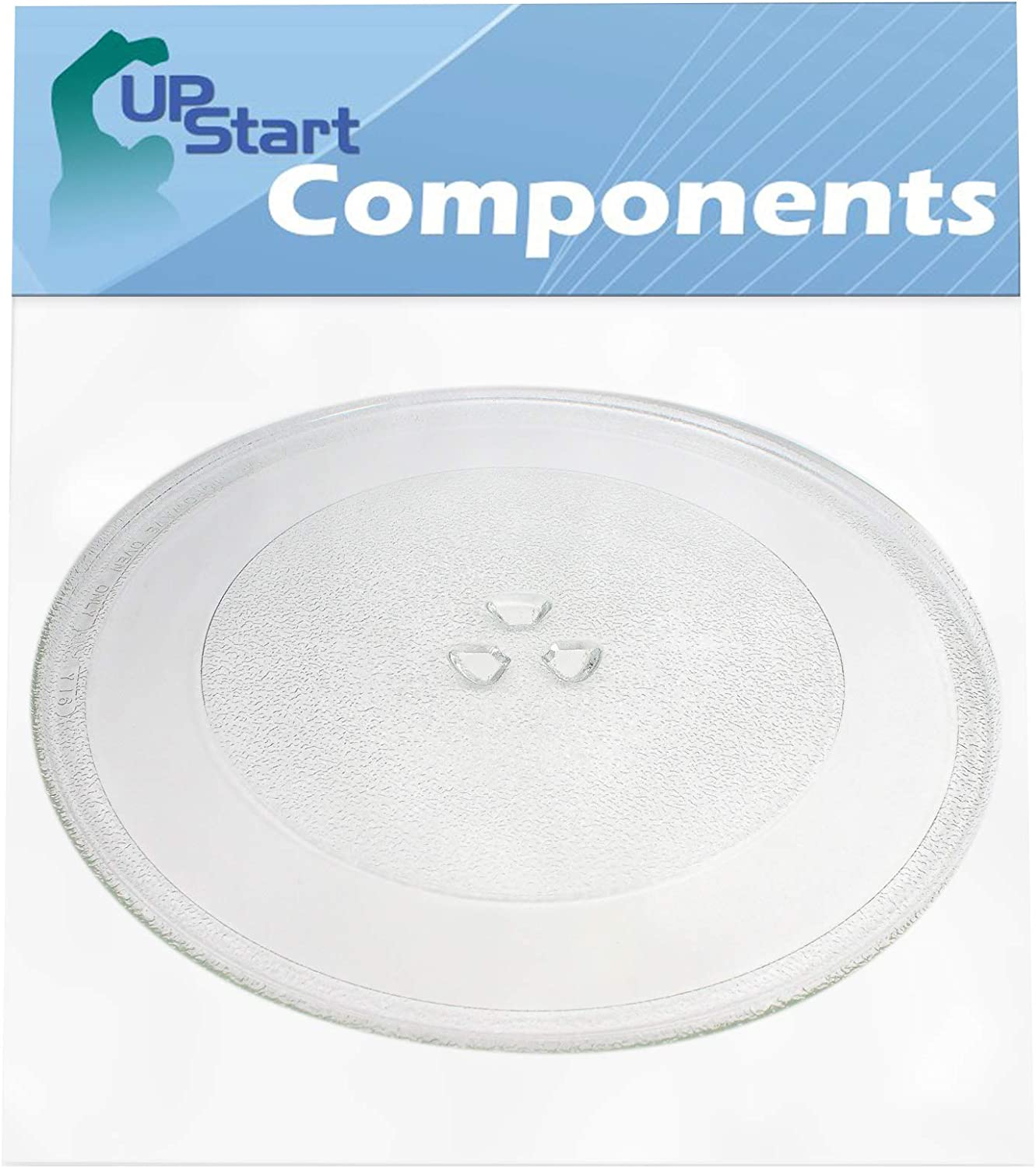WP8172138 Microwave Glass Turntable Plate Replacement for Amana MVH250W (P1323217M) - Compatible with 8172138 4358641 12 3/4 Inch Glass Tray