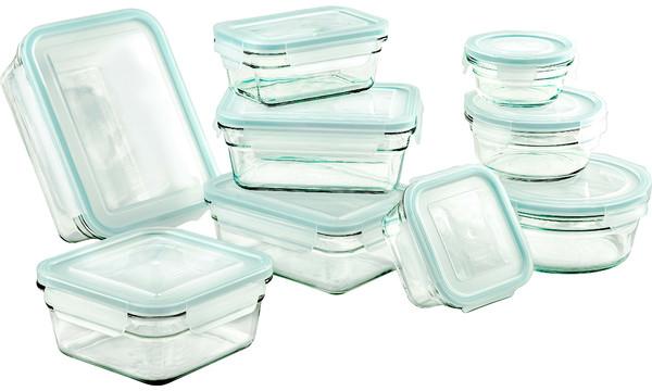 18-Piece Glasslock Storage Container Set | Joss & Main