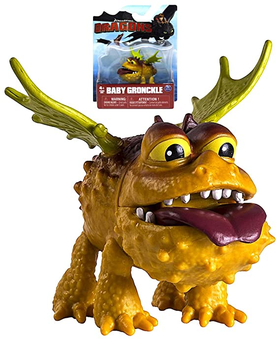 Amazoncom How To Train Your Dragon Race To The Edge Baby Gronckle
