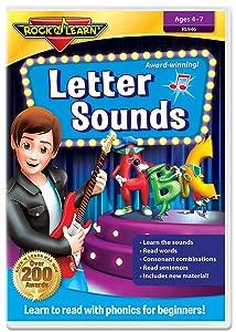 Letter Sounds DVD by Rock 'N Learn