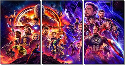 Movie  Avengers Endgame Hawkeye Room Art Poster Print 24 X 14 inches