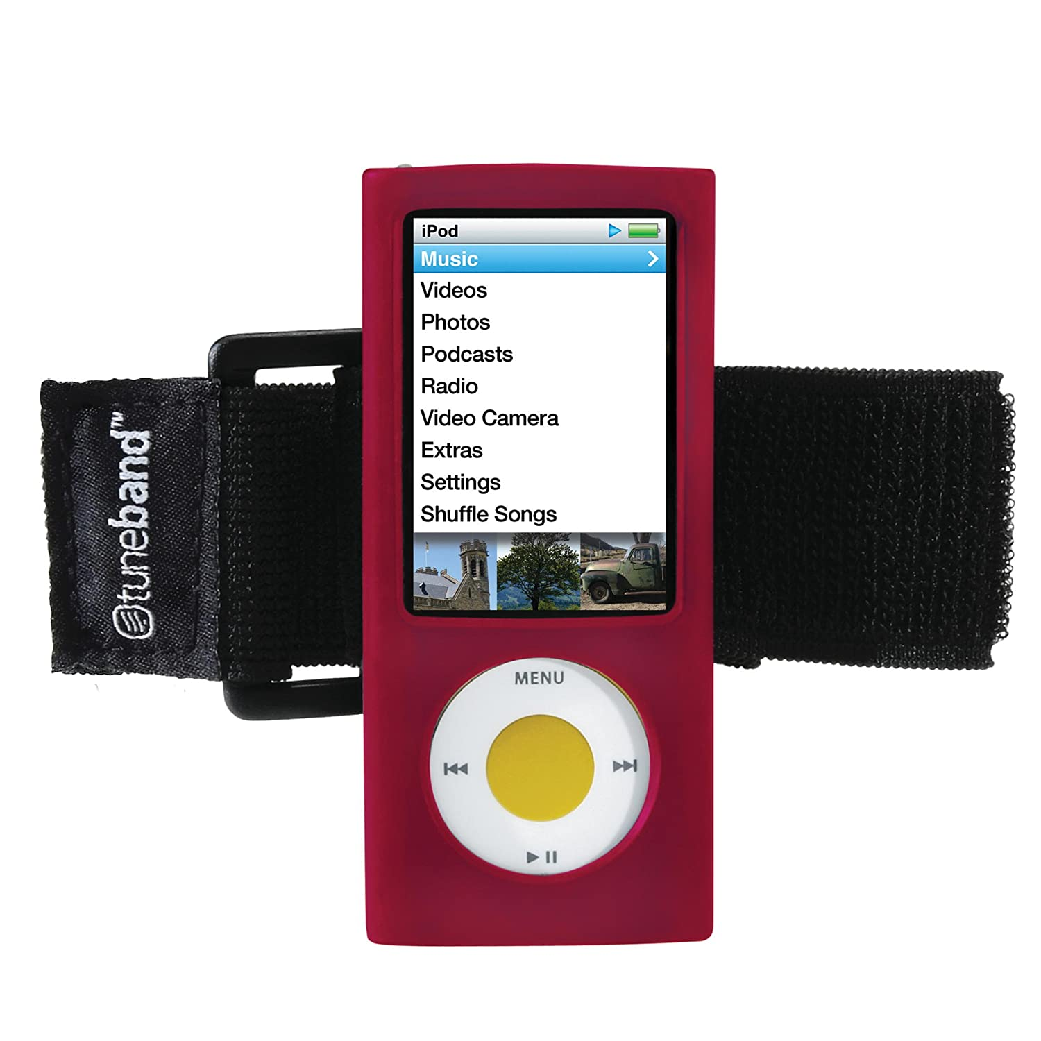 Amazon.com: TuneBand for iPod nano 5th Generation (Model A1320, 8GB/16GB,  Rear Camera), Premium Armband, Compatible with Nike+iPod, RED: Cell Phones  & ...