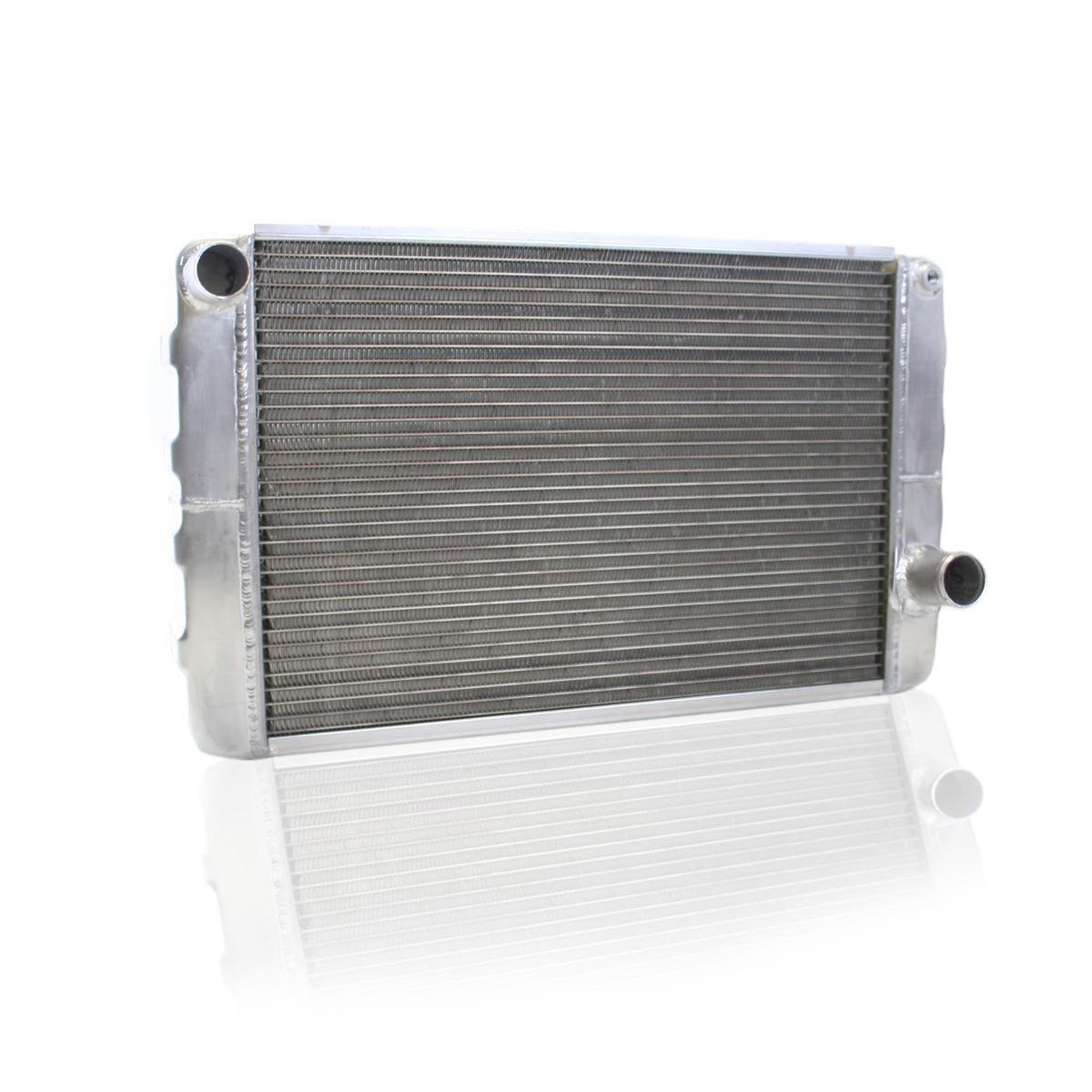 Griffin Radiator 1-25272-X ClassicCool 31 x 19 2-Row Universal Fit Cross Flow Radiator with 1 Tube