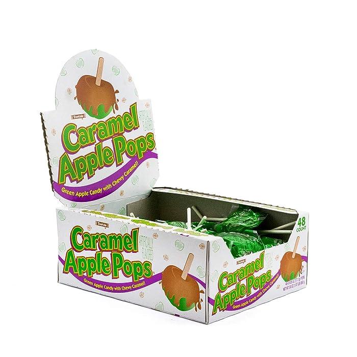 Caramel Apple Pops, 48Count Package