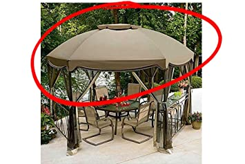 Great Garden Oasis Grandview Hex Gazebo Replacement Canopy
