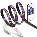 Amazon Price History for:TV LED Light Strip JACKYLED 6.6Ft 60Leds LED TV Backlight Strip USB Bias Monitor Lighting RGB 5050 SMD Changing Color Strip Kit Accent light Set For TV Desktop PC (Wireless remote controller)