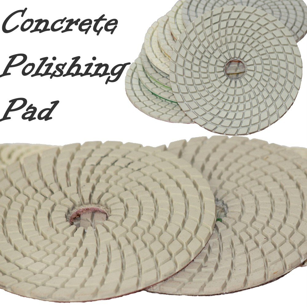 4'' STADEA Concrete Diamond Polishing Pads Set for diamond concrete polishing Concrete Sanding Wet Grinders / Polishers