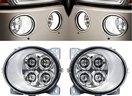 Indicadores de se/ñal de giro LED 24V izquierdo y derecho para cami/ón carga pesados C41133 AERZETIX