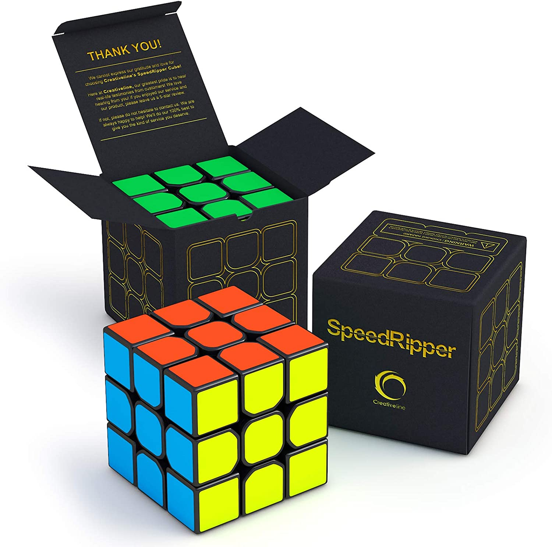 QIYI Smooth 4X4X4 Speed Magic Cube Stickerless Twist Toy Turning Quicker Cube