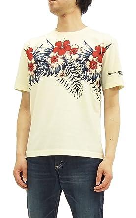 541b7129e945 AntiAnti Anti T-Shirt Men's Short Sleeve Tee Hawaiian Flowers ATT-151 Off-