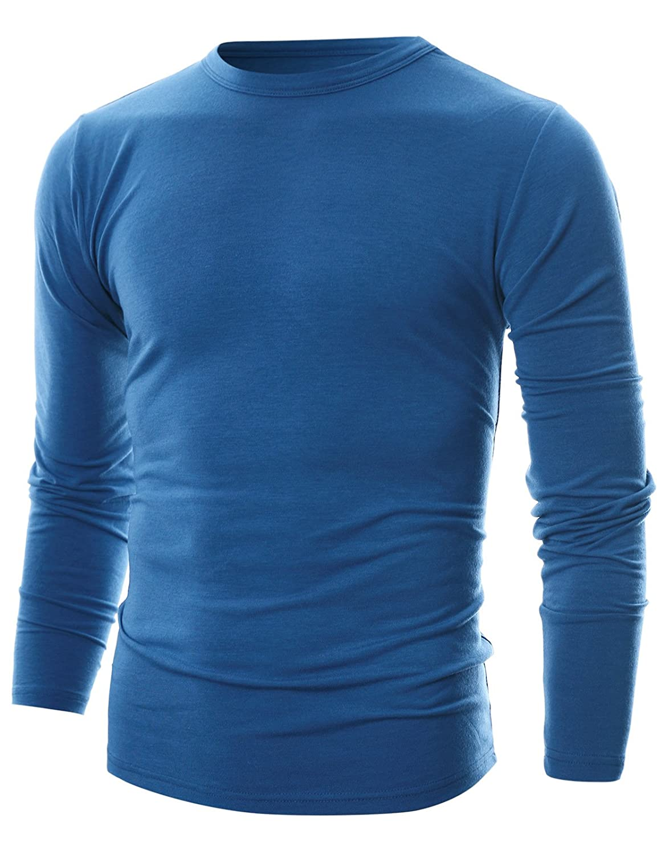 GIVON SHIRT メンズ B073W7YKNM L|Dcp033-blue Dcp033-blue L