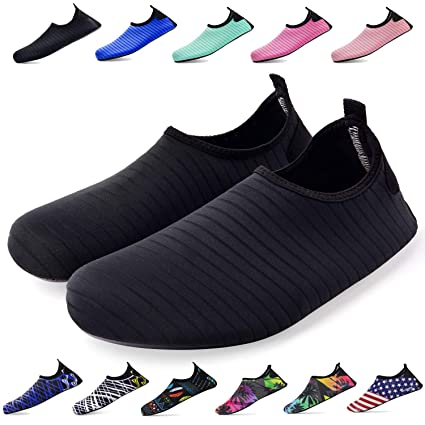 Amazon.com  Bridawn Water Shoes for Women and Men 68c76313f0d35