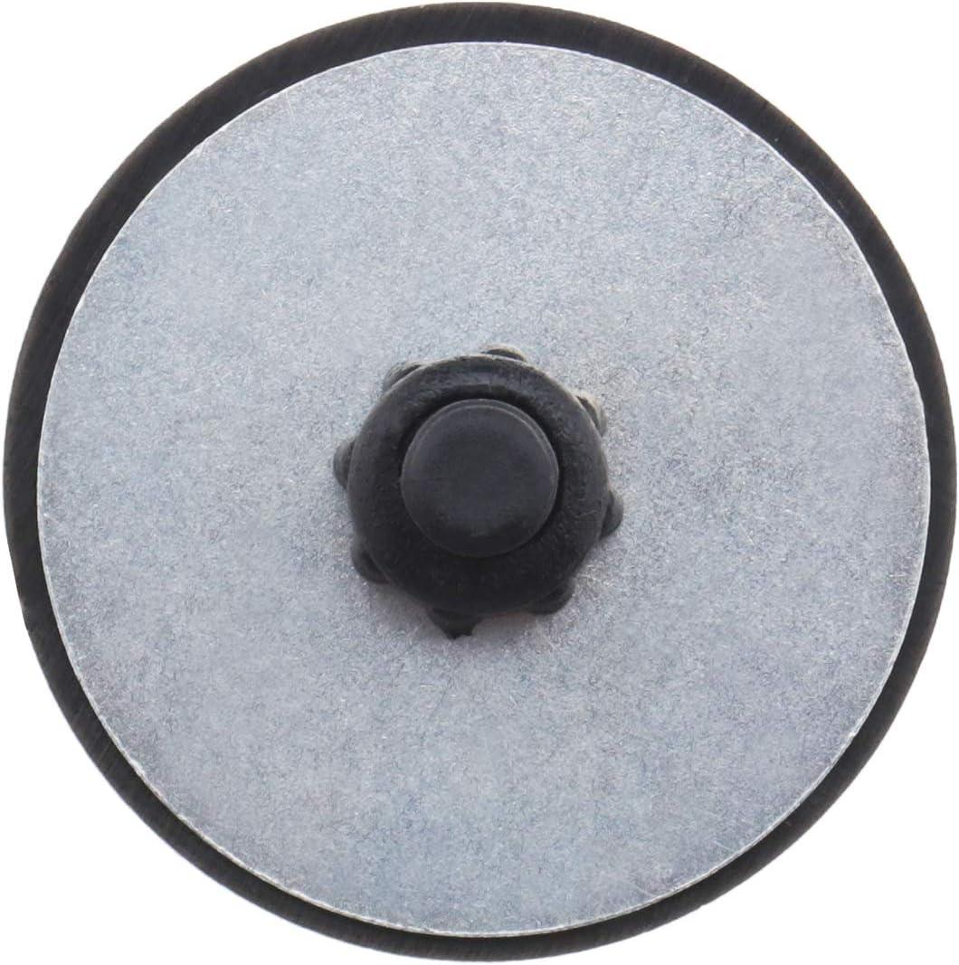 37mm Couverture pour Essuie-glace de Pare-brise Arri/ère 16mm de Hauteur Noir ABS Universel